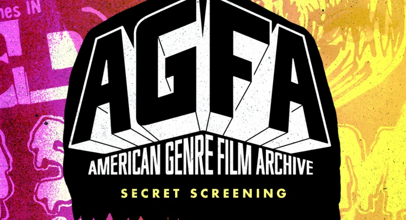SECRET SCREENING - PRESENTED BY AGFA AND SOMETHING WEIRD