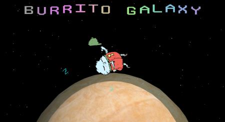 Burrito Galaxy 64: Mega Tortilla Bean Saga 30x6 Push It To the Limit