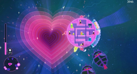 Lovers in a Dangerous Spacetime: Developer Commentary