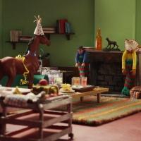 a town called panic the christmas log la b che de no l. Black Bedroom Furniture Sets. Home Design Ideas